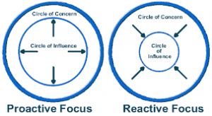 Circle of influence and concern