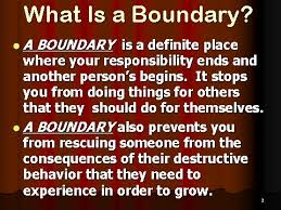 Boundaries 4